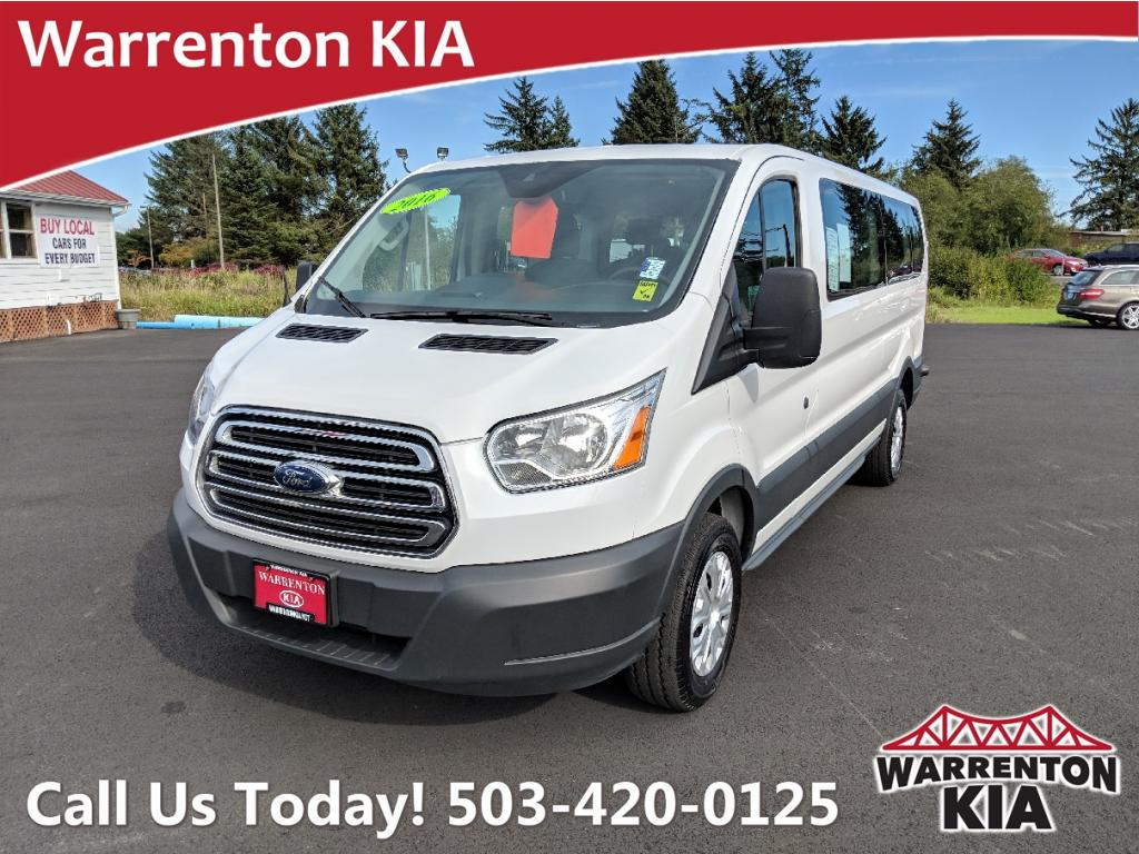Pre-Owned 2016 Ford Transit Wagon T-350 Low Roof 60/40 xlt