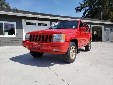 Pre-Owned 1996 Jeep Grand Cherokee Limited