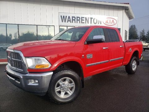 Pre-Owned 2012 Ram 3500 Laramie Longhorn With Navigation