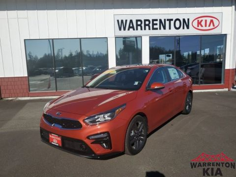 New 2019 Kia Forte EX Front Wheel Drive 4D Sedan
