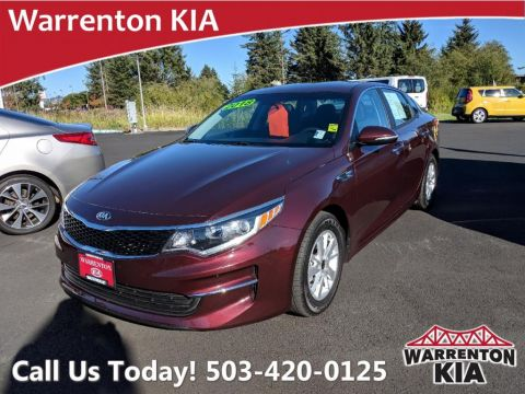 Pre-Owned 2018 Kia Optima LX FWD Auto