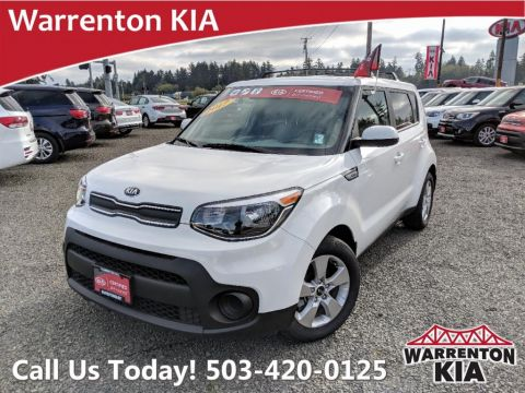 Certified Pre-Owned 2017 Kia Soul Base FWD Auto